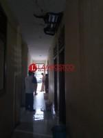 Hujan, Kantor Sekretariat Kabupaten Pesisir Barat Bocor