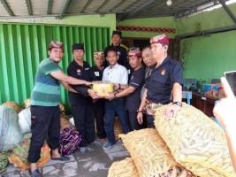 Hulu Balang Kerajaan Sekala Bkhak Salurkan Bantuan untuk Korban Tsunami