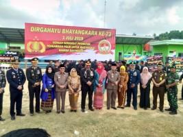 Hut Bhayangkara, Warga Berharap Polisi Berantas Narkoba di Mesuji