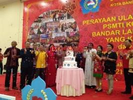 HUT ke-3 PSMTI Bandar Lampung Ajak Warga Tionghoa Tak Golput