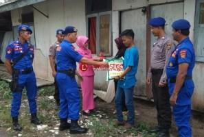 HUT ke 68 Korpolairud ke 68 Polres Tulangbawang Bagikan Paket Sembako
