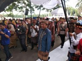 HUT Pemprov LampungDiawali dengan Upacara Adat