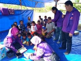 IKA FKIP Unila Serahkan Bantuan Korban Gempa dan Tsunami di Palu