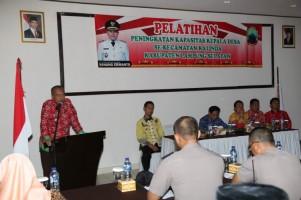 Kades Se-Kecamatan Kalianda Dituntut Bisa Kembangkan Potensi Desa