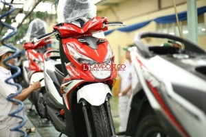 Indonesia Catat Peningkatan Angka Ekspor Sepeda Motor