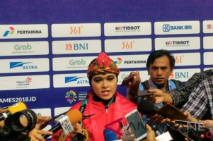 Indonesia Raih Emas ke-13 di Pencak Silat Kelas Seni Tunggal Putri