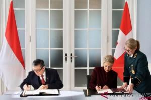 Indonesia-Swiss Tandatangani Perjanjian Bantuan Hukum Timbal Balik