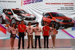 Ini Pemenang Honda Brio Virtual Modification
