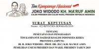 Ini Susunan Tim Kampanye Jokowi - Amin di Lampung