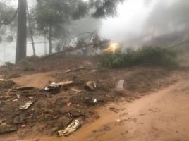 Intensitas Hujan Tinggi, Warga Lambar Diimbau Waspada Bencana