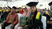 IPK 3,95 Ahmad Subarkah Lulusan Terbaik UIN Raden Intan