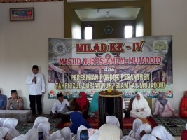 Irjen Pol Mustafa Hari Kuncoro Resmikan Ponpes Tahfidzul Quran Nur Islami Al Mujaddid