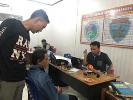 Isap Sabu, Warga Bukit Kemuning Ini Digelandang ke Kantor Polisi