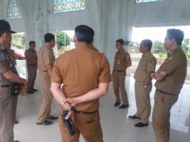 Islamic Center Kotabumi Dijadikan Posko Mudik