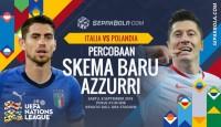 Italia vs Polandia: Menanti Tuah Polesan Mancini