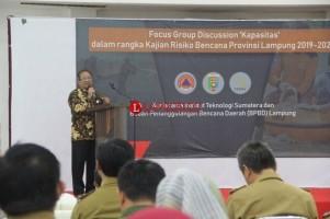 Itera Gandeng PPDB Kaji Kerawanan Bencana di Lampung