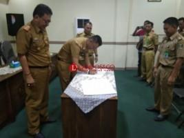 Jabatan Kepala BKPPD Kabupaten Lamtim Diserahterimakan