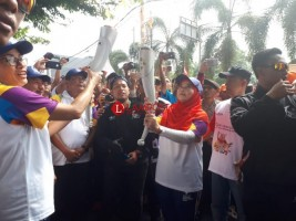 Jadi Salah Satu Pembawa Obor Asian Games, Ini Kata Ketua Koni Bandar Lampung