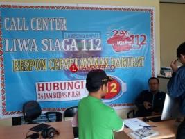 Jadi yang Pertama di Lampung, Call Center 112 Lambar Masuk Tahap Uji Coba