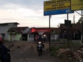 Jaga Nyawa di Perlintasan Kereta