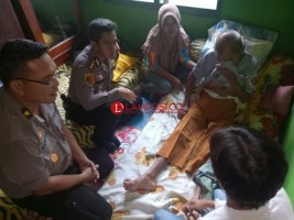 Jajaran Polres Lampung Utara Anjangsana ke Purnawirawan