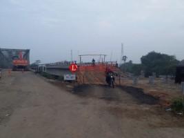 Jalan Alternatif Sudah Dibangun, Jembatan yang Ambrol Mulai Diperbaiki