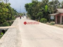 Jalan Ruas Pringsewu-Pardasuka Hampir Rampung Diperbaiki