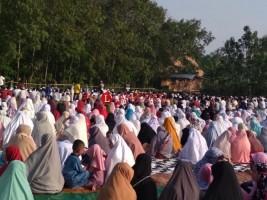 Jamaah Muslimin Hizbullah di Lamsel Laksanakan Salat Ied Hari Ini