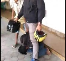 Jambret di Jalan Dr.Harun Kabur ke Ruko, Sempat Dipukuli Massa