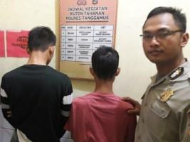 Jambret Ponsel, Dua Pelajar Ini Dibekuk Polisi