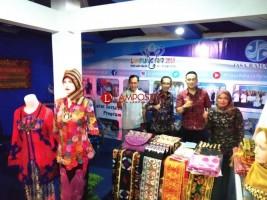 Jasa Raharja Pamerkan Produk Mitra Binaan di Lampung Fair