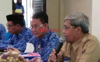 Jelang Lampung Fair 2018, Wabup Loekman Minta Anjungan Diperbaiki