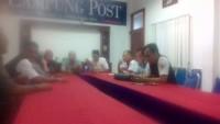 Jelang Pelantikan Pengurus Bravo 5 Sambangi Lampung Post