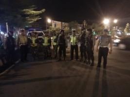 Jelang Pemilu, Polres Lampura Giatkan Patroli Malam