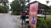 Jelang Pilgub, Panwaslu Lamsel Sebar 260 Banner Tolak Politik Uang
