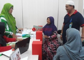 Jemaah Calon Haji di Tulangbawang Mulai Diberangkatkan pada 31 Juli