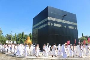Jemaah Calon Haji Lampung Lakukan 10 Kali Manasik