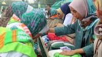 Jemaah Haji Asal Lamteng Masuk Asrama, Petugas Amankan Makanan