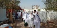 Jemaah Haji Indonesia Menuju Arafah
