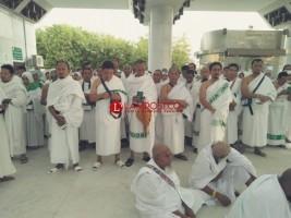 Jemaah Haji Kloter 11 JKG Lampung Tengah Hari Ini Fokus Ibadah