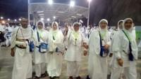 Jemaah Haji Kloter 11 JKG Menunggu Kepulangan ke Tanah Air