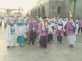 Jemaah Haji Kloter 11 Lampung ke Mekkah 30 Juli