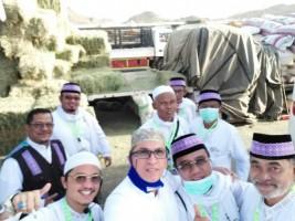 Jemaah Haji Kloter 7 JKG Bandar Lampung Lakukan Thawaf Wada