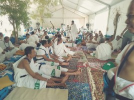 Jemaah Haji Lampung Bersiap Lontar Jumrah Aqabah, Besok