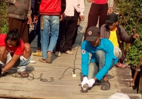 Jembatan Gantung Gunungkatun di Tubaba Dipertahankan Sebagai Ikon Wisata