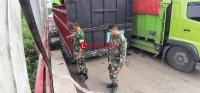Jembatan Penghubung Lampung-Sumsel di Mesuji Putus Total