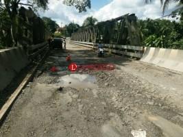 Jembatan Way Umpu Mulai Diperbaiki