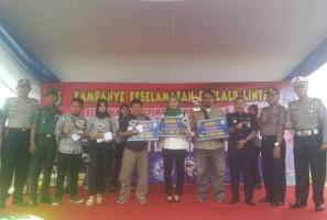 Jepretan 2 Fotografer Lampung Post Juarai Lomba Foto Selfi Satlantas Pesawaran