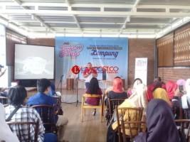 JNE Edukasi Puluhan Pelaku UKM Lampung