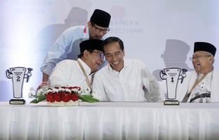 Jokowi Ajak Prabowo Adu Gagasan Dalam Pilpres 2019